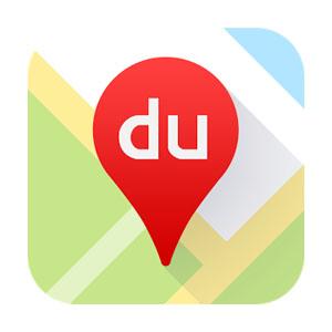 Baidu maps app logo