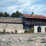 Alaverdi Monastery wall in Georgia