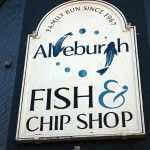 Aldeburgh fish and chip shop, Aldeburgh, Suffolk