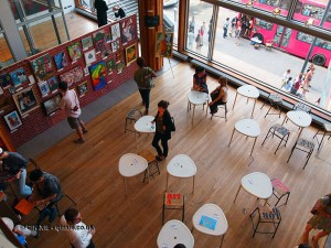 Arty Cafe at Vintage Festival, Southbank