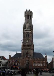 Bell tower, Bruges, Belgium