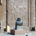 Bird statue, Temple of Horus, Edfu