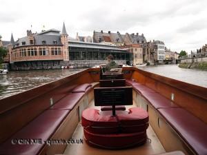 Boat trip, Ghent, Belgium