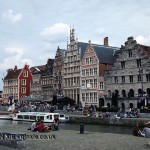 By the river, Ghent, Belgium