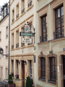 Café des Artistes, Luxembourg