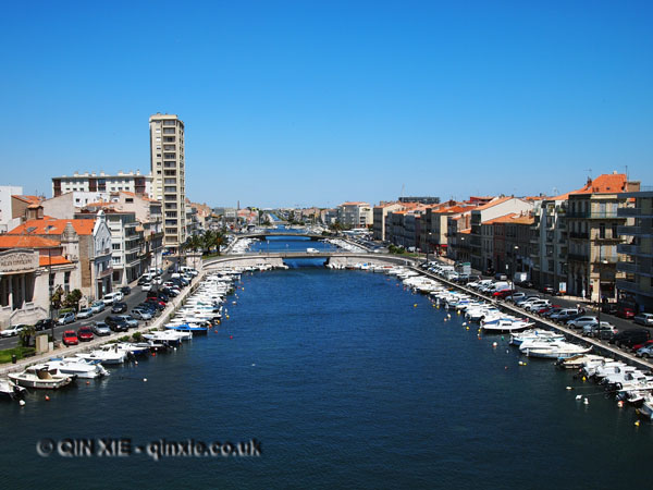 Canal, Sete, France