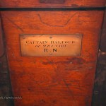 Captain Balfour trunk at Balfour Castle