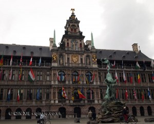 City hall, Antwerp, Belgium