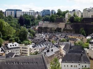 City landscape, Luxembourg