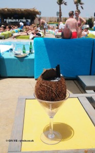 Coconut cocktail, Beirut, Lebanon