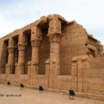 Columns, Temple of Horus, Edfu