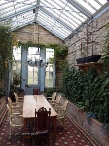 Conservatory at Balfour Castle