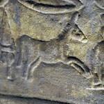 Donkey hieroglyph, Temple of Horus, Edfu