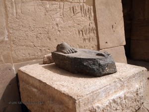 Foot, Karnak Temple, Luxor