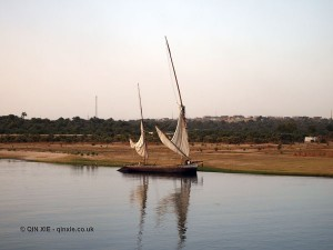 Felucca, Cruise on the Nile