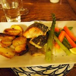 Fish dish, Isle of Skye, Scotland