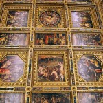 Frescoes inside the Palazzo Vecchio, Florence, Italy