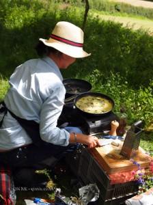 Frittata at Riverord Organics
