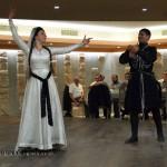 Georgian dancers in Georgia