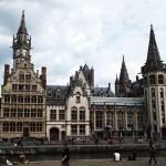 Gothic architecture, Ghent, Belgium
