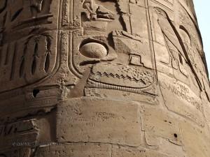 Grafitti, Karnak Temple, Luxor