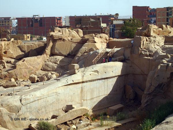 Granite quarry, Unfinished Obelisk, Aswan