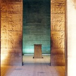 Inner sanctum, Philae Temple, Lake Nasser