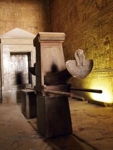 Inner sanctum, Temple of Horus, Edfu