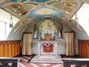 Inside Italian Chapel on Kirkwall