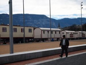 Man in Switzerland, Geneva
