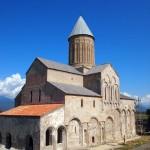 Monastery building in Georgia