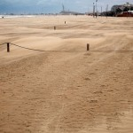 Moving sand, Pescara, Abruzzo
