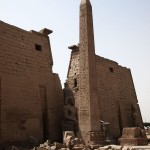 Obelisk at gate, Luxor Temple, Luxor