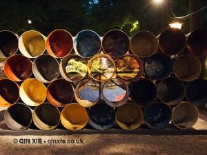 Oil drums, The Hague