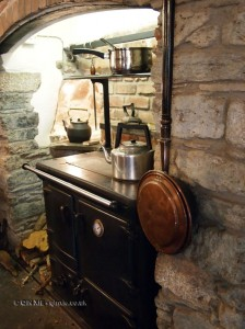 Old kitchen in Cornwall