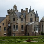 Outside view at Balfour Castle