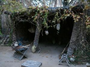 Palm worker's hut, Tunisia