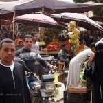 People at market, Edfu, Egypt