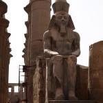 Pharaoh statue. Luxor Temple, Luxor