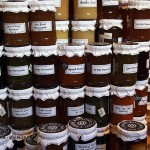 Preserves at Aldeburgh Food and Drink Festival, Snape Maltings, Aldeburgh, Suffolk