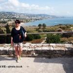 Qin Xie at Byblos, Beirut, Lebanon