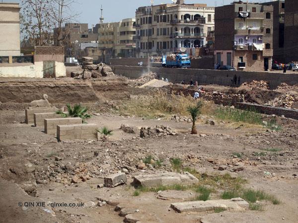Restoration of the Avenue of Sphinx, Luxor Temple, Luxor