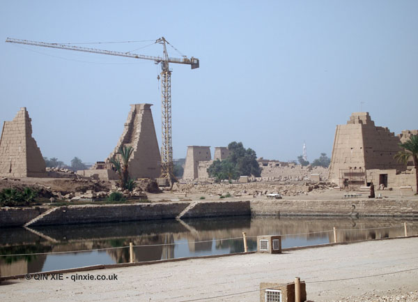 Restoration, Karnak Temple, Luxor