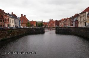River view, Bruges, Belgium