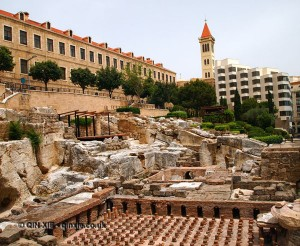 Roman ruins, Beirut, Lebanon