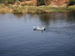 Row boat, Cruise on the Nile