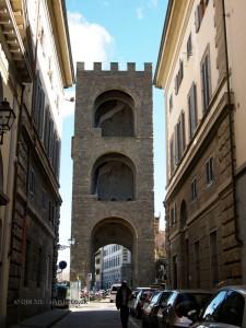 San Niccolo Tower, Florence, Italy