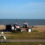 Seaside shack in Aldeburgh, Suffolk
