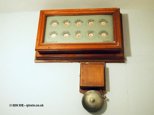 Service bell at Balfour Castle