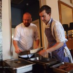 Simon and Craig at Catch and Cook with Simon Hulstone in Torquay